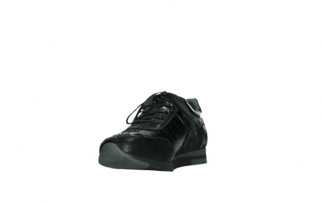 wolky lace up shoes 02525 yell 36000 shiny black leather_9