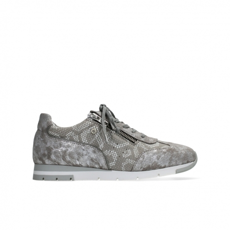 wolky lace up shoes 02526 yell xw 48150 taupe printed suede