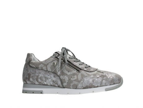 wolky lace up shoes 02526 yell xw 48150 taupe printed suede_2
