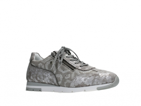 wolky lace up shoes 02526 yell xw 48150 taupe printed suede_3