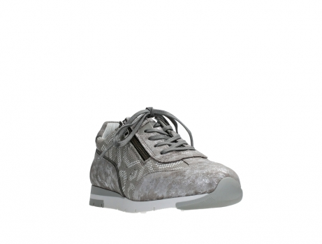 wolky lace up shoes 02526 yell xw 48150 taupe printed suede_5