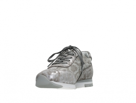 wolky lace up shoes 02526 yell xw 48150 taupe printed suede_9