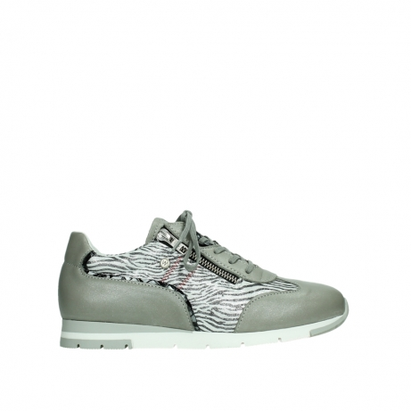 wolky lace up shoes 02526 yell xw 88130 silver leather
