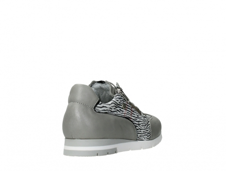 wolky lace up shoes 02526 yell xw 88130 silver leather_21