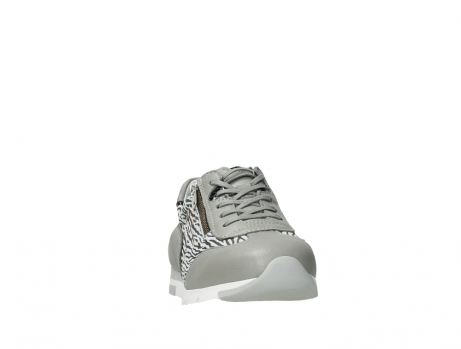 wolky lace up shoes 02526 yell xw 88130 silver leather_6
