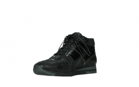 wolky lace up shoes 02527 cheer 36000 shiny black leather_10