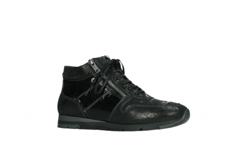 wolky lace up shoes 02527 cheer 36000 shiny black leather_3