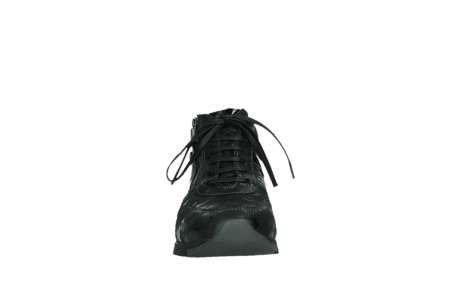 wolky lace up shoes 02527 cheer 36000 shiny black leather_7