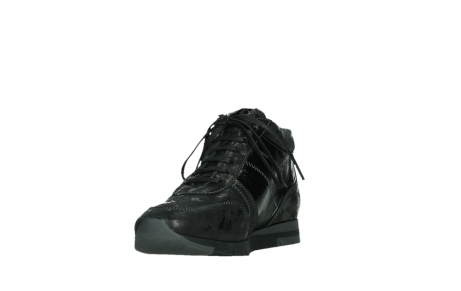 wolky lace up shoes 02527 cheer 36000 shiny black leather_9