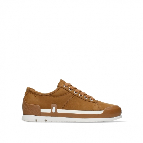 wolky lace up shoes 02778 stowe 13360 camel lightly greased nubuck