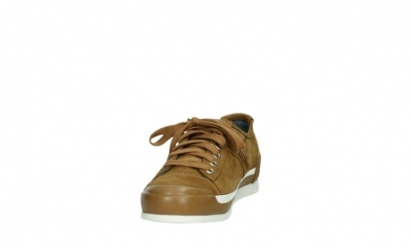 wolky lace up shoes 02778 stowe 13360 camel lightly greased nubuck_8