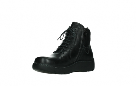 wolky lace up boots 03252 daydream 24000 black leather_10