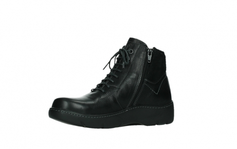 wolky lace up boots 03252 daydream 24000 black leather_11