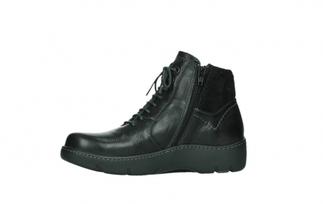 wolky lace up boots 03252 daydream 24000 black leather_12