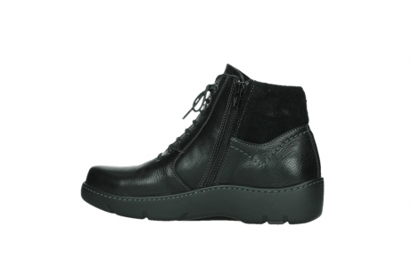 wolky lace up boots 03252 daydream 24000 black leather_14