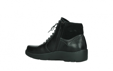 wolky lace up boots 03252 daydream 24000 black leather_15