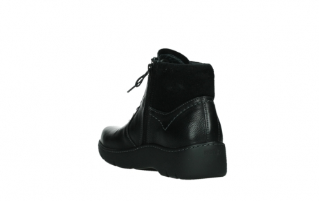 wolky lace up boots 03252 daydream 24000 black leather_17