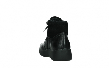wolky lace up boots 03252 daydream 24000 black leather_18