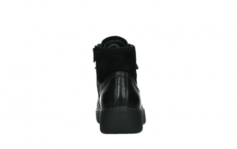 wolky lace up boots 03252 daydream 24000 black leather_19