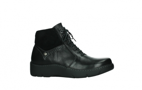 wolky lace up boots 03252 daydream 24000 black leather_2