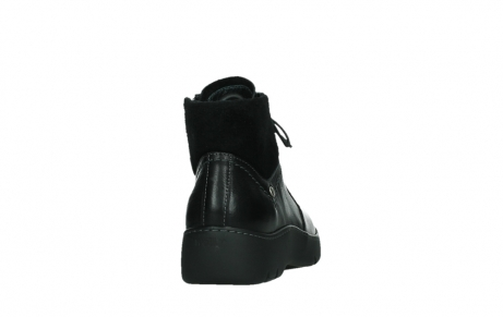 wolky lace up boots 03252 daydream 24000 black leather_20
