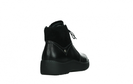 wolky lace up boots 03252 daydream 24000 black leather_21