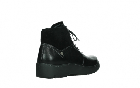 wolky lace up boots 03252 daydream 24000 black leather_22