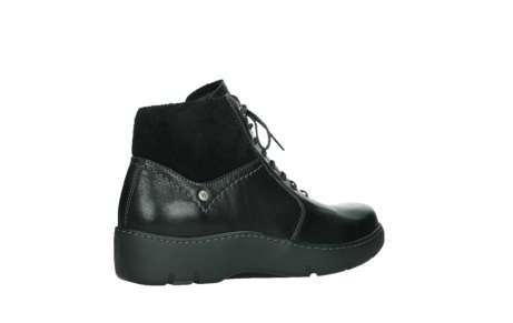wolky lace up boots 03252 daydream 24000 black leather_23