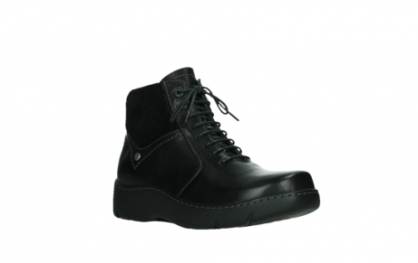 wolky lace up boots 03252 daydream 24000 black leather_4
