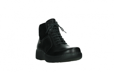wolky lace up boots 03252 daydream 24000 black leather_5