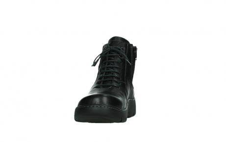 wolky lace up boots 03252 daydream 24000 black leather_8