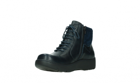 wolky lace up boots 03252 daydream 24800 blue leather_10