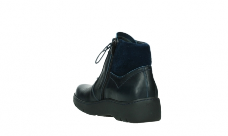 wolky lace up boots 03252 daydream 24800 blue leather_17