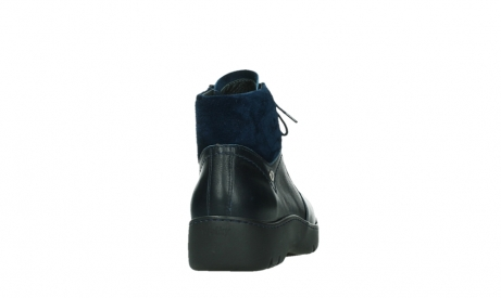 wolky lace up boots 03252 daydream 24800 blue leather_20