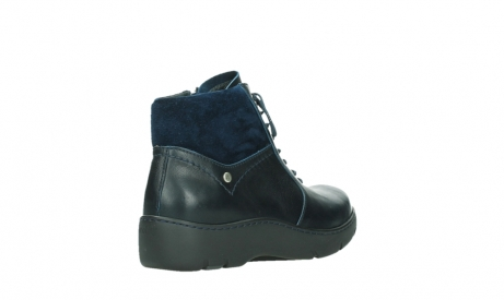 wolky lace up boots 03252 daydream 24800 blue leather_22