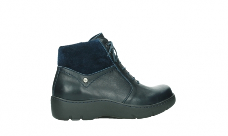 wolky lace up boots 03252 daydream 24800 blue leather_24