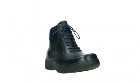 wolky lace up boots 03252 daydream 24800 blue leather_5