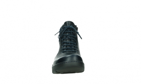 wolky lace up boots 03252 daydream 24800 blue leather_7