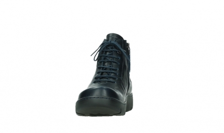 wolky lace up boots 03252 daydream 24800 blue leather_8