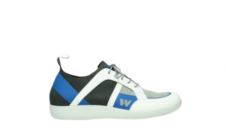 wolky lace up shoes 04075 base 00286 anthracite royal blue microfibre_1