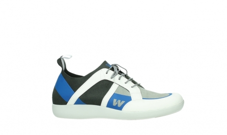 wolky lace up shoes 04075 base 00286 anthracite royal blue microfibre_2