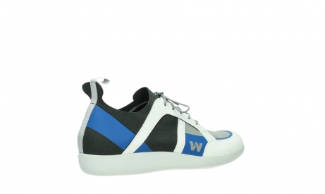wolky lace up shoes 04075 base 00286 anthracite royal blue microfibre_23