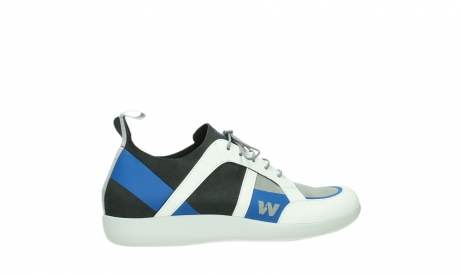 wolky lace up shoes 04075 base 00286 anthracite royal blue microfibre_24