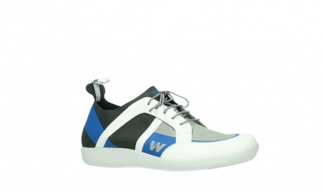 wolky lace up shoes 04075 base 00286 anthracite royal blue microfibre_3