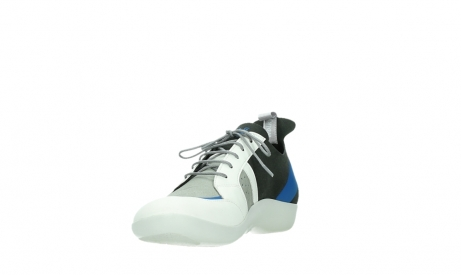 wolky lace up shoes 04075 base 00286 anthracite royal blue microfibre_9
