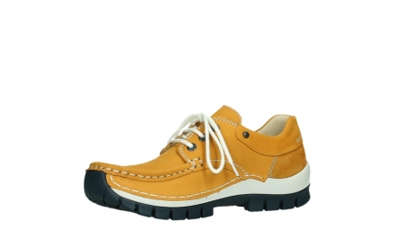 wolky lace up shoes 04701 fly 11558 orange blue nubuck_11
