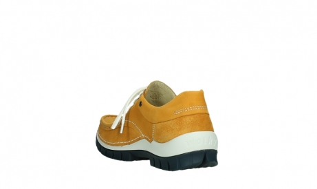 wolky lace up shoes 04701 fly 11558 orange blue nubuck_17