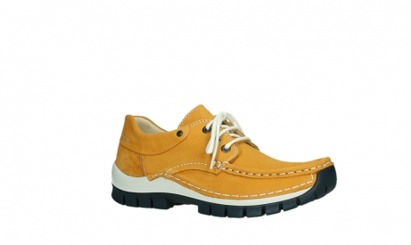 wolky lace up shoes 04701 fly 11558 orange blue nubuck_3