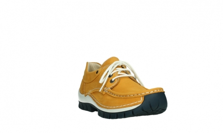wolky lace up shoes 04701 fly 11558 orange blue nubuck_5