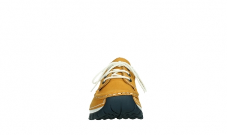 wolky lace up shoes 04701 fly 11558 orange blue nubuck_7